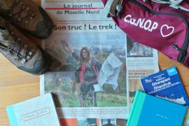 Director of Just Boarded on the front page of the French newspaper Le Republican Lorrain